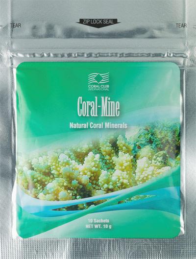 Упаковка Корал Майн содержит 10 саше
