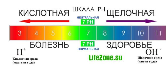 Кислотно-щелочное равновесие pH
