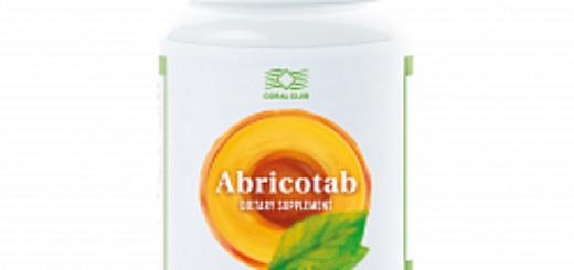 Пробиотик Abricotab положительно влияет на микрофлору кишечника, пищеварение и стул
