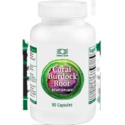 Корень лопуха Coral-Burdock-Root
