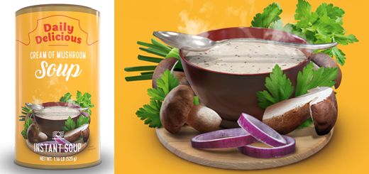 Daily Delicious Cream of Mushroom Soup