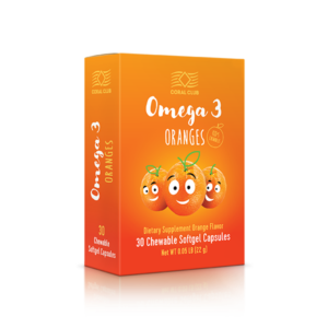 ПНЖК Omega 3 со вкусом апельсина