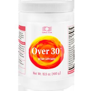 Over-30 витамины после тридцати