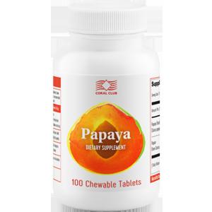 Papaya Папайя - источник полезных веществ, в том числе ферментов папаина, липазы, лизоцима