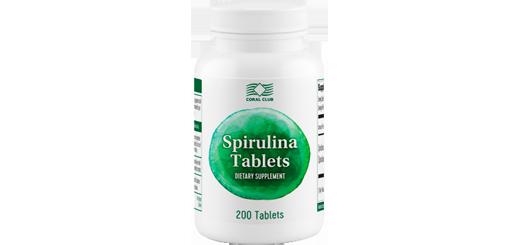 Спирулина в таблетированной форме - Spirulina-Tablets