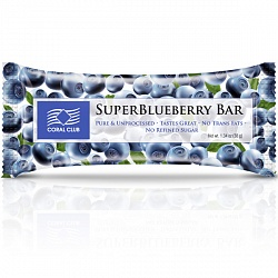 Super Blueberry Bar