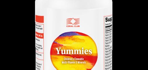 Детские вкусные витамины Yummies