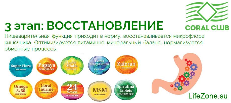 3 этап программы «Здоровый кишечник»: ВОССТАНОВЛЕНИЕ