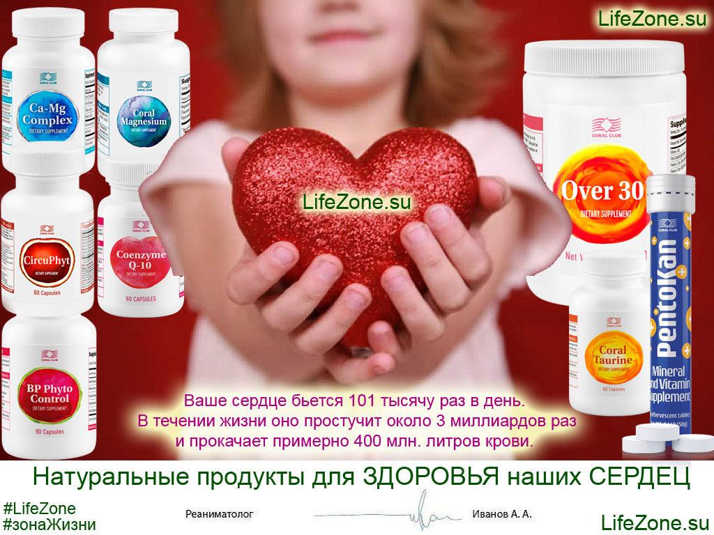 натуральные продукты для поддержания здоровья сердца