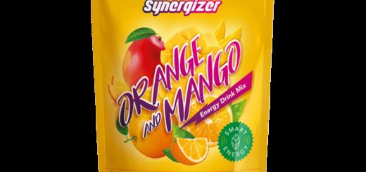 Synergizer Orange & Mango - натуральный сбалансированный энергетический напиток Синерджайзер со вкусом апельсина и манго