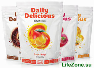 Сбалансированные протеиновые коктейли с комплексом нутриентов и коллагеном Daily Delicious Beauty Shake